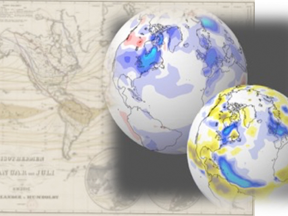 Titleimage: PALAEO-RA – Global Climate of the Past Six Centuries